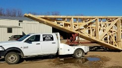 Truck Carrying Roof, Roofing Solutions in Checotah, OK