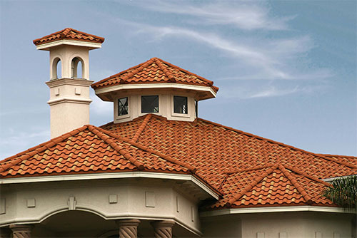 Tile Look Roof