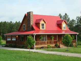 Crimson Metal Roof, Metal Roofing from Checotah, Oklahoma