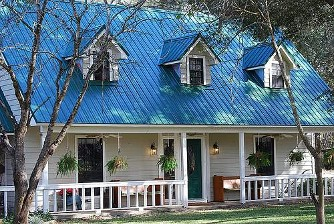 Blue Metal Roof H-Lock, Metal Roofing from Checotah, Oklahoma